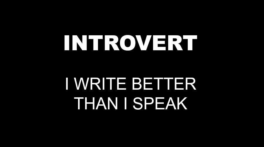 Quote on Introverts