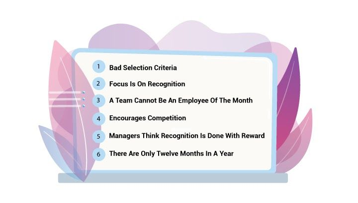 Employee of the Month Recognition