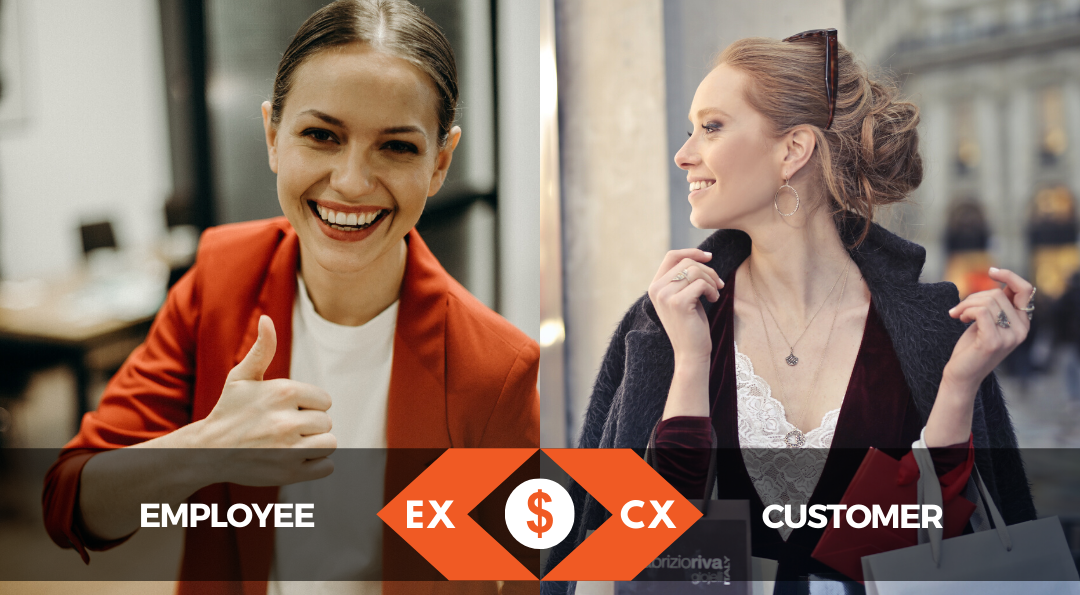 From Great EX To Great CX - Employee Satisfaction Leads to Customer Satisfaction