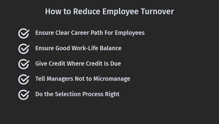 How to Reduce Employee Turnover Rate?