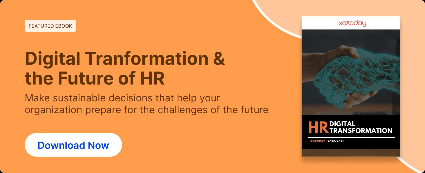 HR Digital Transformation Ebook