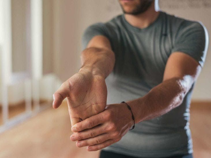 Wrist and finger stretch