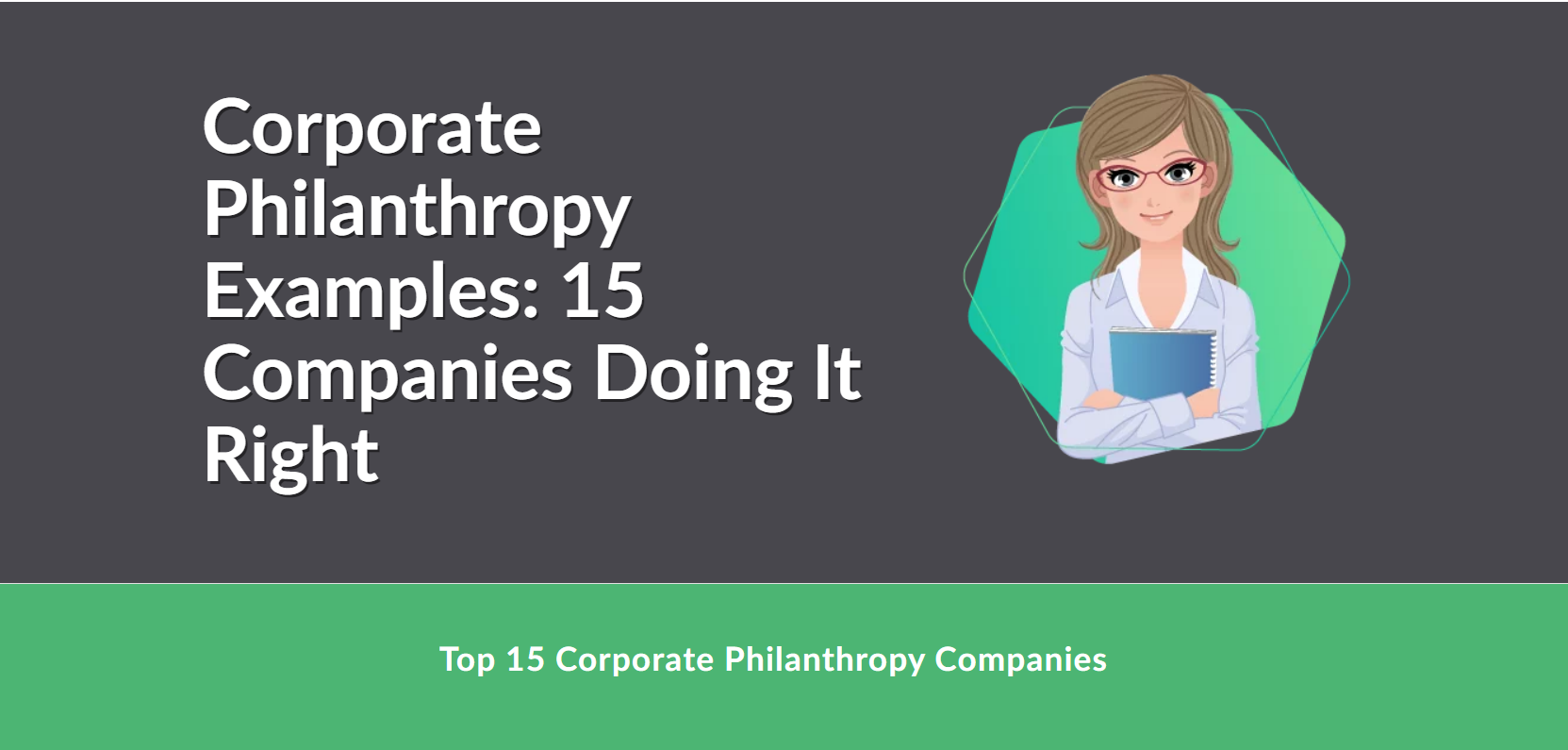 corporate philanthropy examples