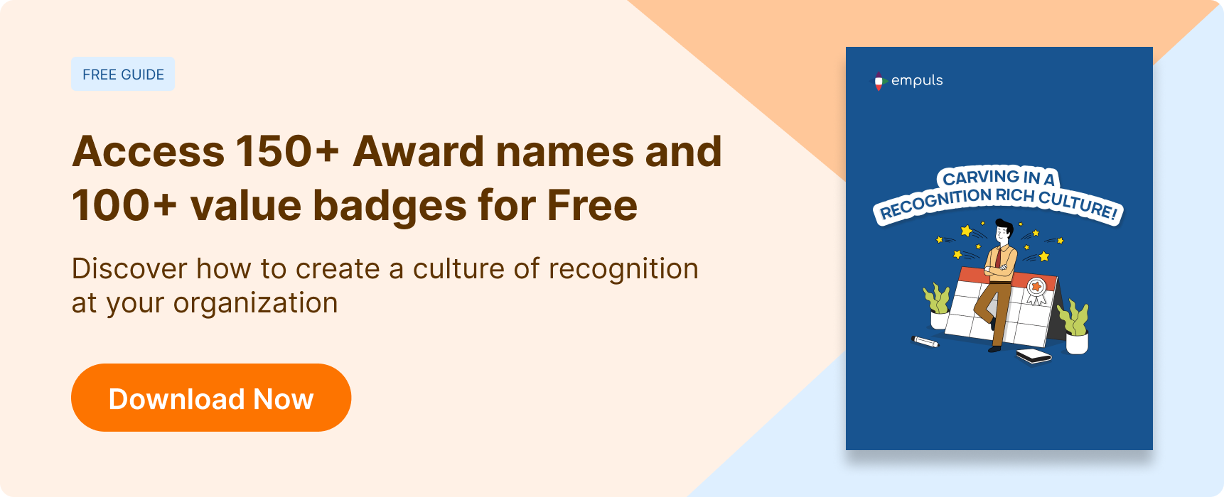 Download the guide to creating a culture of recognition in your organization